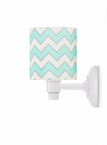 Lamps&Co - kinkiet chevron mint